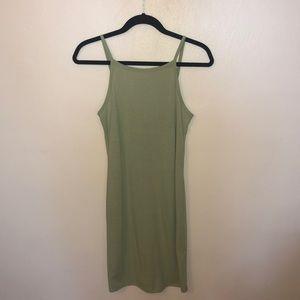 Summer green dress